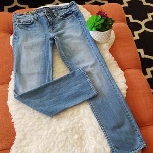 J. Crew Stretch Matchstick Jeans 28S